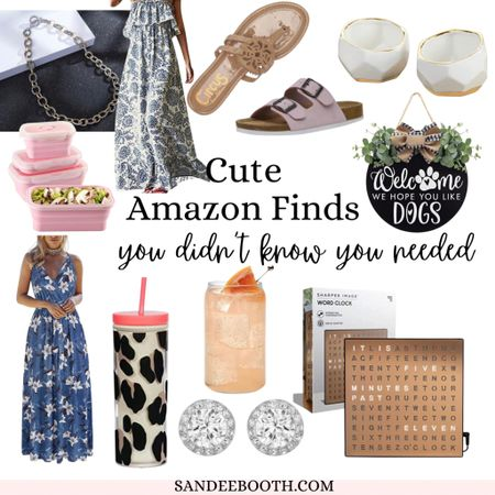 Cute Amazon home decor and style finds you didn't know you needed! Maxi dresses Boho home decor  Farmhouse decor  Coffee mugs Birthday gifts  Amazon finds under $30   #LTKhome #LTKstyletip #LTKunder50