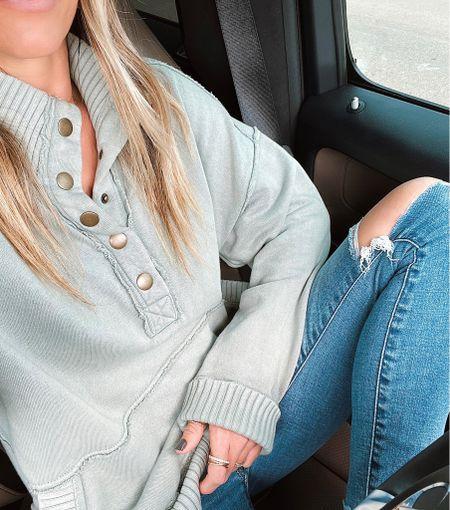 Size xs in this sweatshirt!😍     #LTKstyletip #LTKSeasonal #LTKunder100