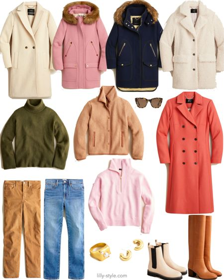 Amazing J Crew fall sale. A lot of pieces that hardly ever go on sale, like many coats, are part of the sale 🤩  (Extra perk for J Crew card holders)   #LTKsalealert #LTKshoecrush #LTKstyletip
