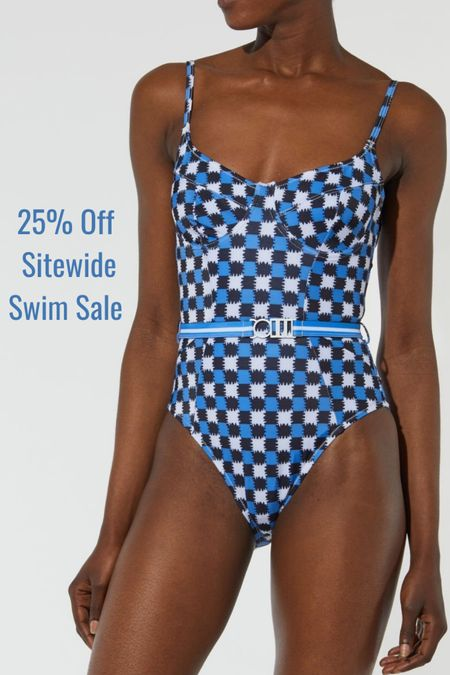 Memorial Day Swim Sale! Check out 25% off sitewide at Solid and Striped! #liketkit @liketoknow.it http://liketk.it/3giJW #swimwear #beach #vacation #memorialday #bikini #sundress #swimsuits