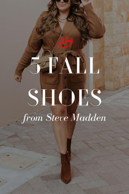 My top picks for Fall shoes from Steve Madden 🍂  #LTKshoecrush #LTKunder100 #LTKSeasonal