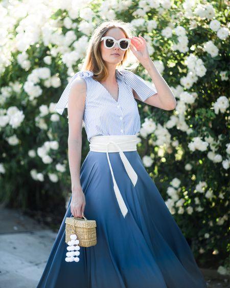 Sunday blue hues 💙💙 // 📷: @torrancecoombs    http://liketk.it/2rmk1 #liketkit @liketoknow.it #TheAListStyle #summerstyle