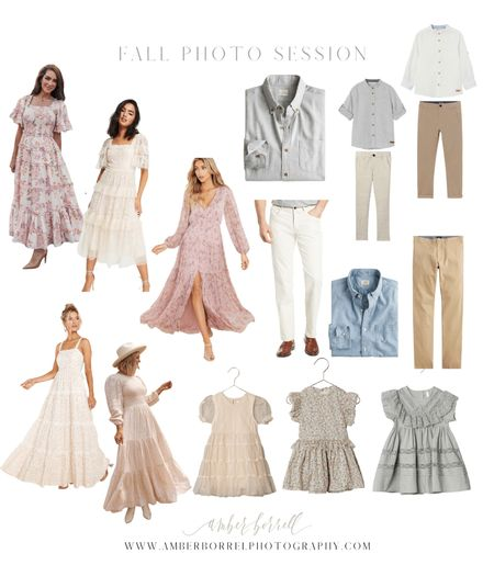What to wear for photography session  #LTKSeasonal #LTKstyletip #LTKfamily