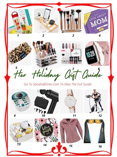 Holiday Gift Guide for Her ❤️ Find the perfect Holiday Gift for her with this guide! More suggestions listed!    Screenshot this pic to get shoppable product details with the LIKEtoKNOW.it shopping app @liketoknow.it #liketkit http://liketk.it/33Fgz #LTKgiftspo #LTKbeauty #LTKfamily