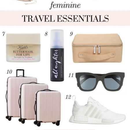 It's time to start traveling again! I'm sharing these affordable, cute and feminine carry on essentials, luggage essentials, airplane essentials, travel beauty essentials and packing must haves for your next trip! They'll make your vacation SO much more enjoyable! ✨ #LTKtravel #LTKbeauty #LTKstyletip http://liketk.it/3gdiD @liketoknow.it #liketkit