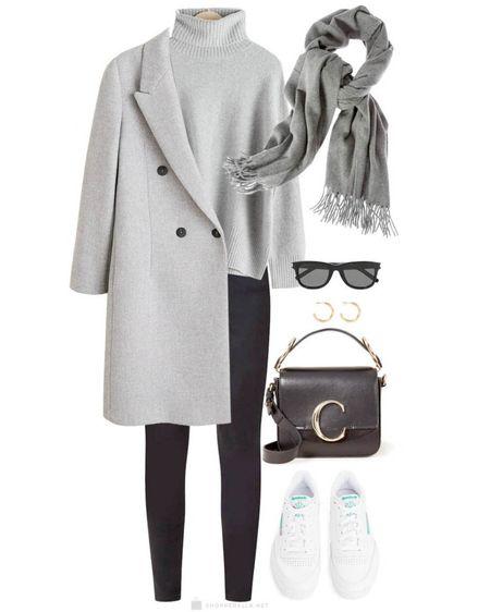 Simple winter grey outfit ❄️ http://liketk.it/35km5 @liketoknow.it #liketkit #LTKunder100 #LTKstyletip
