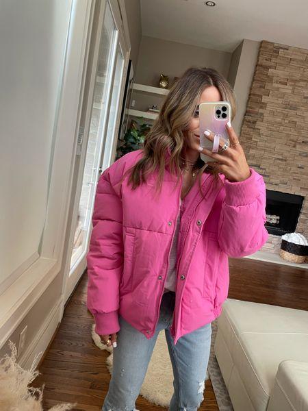 Pink jacket size Xs   #LTKunder100 #LTKsalealert #LTKunder50