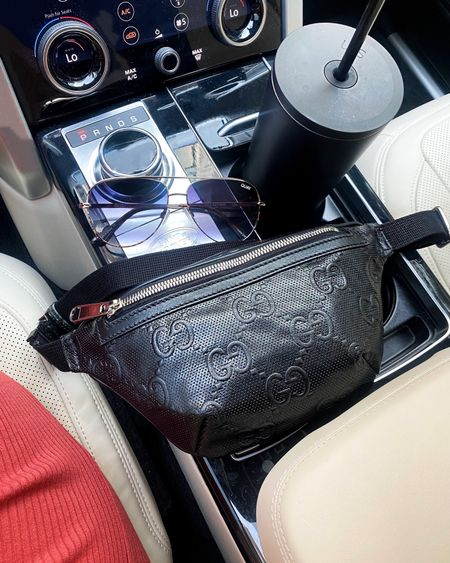 Gucci belt bag under $1000, you can order in your size waist as well!  I find myself wearing my belt bags the most on the daily  Go to matte black water bottle Fav sunnies and the all black ..I have those too Dress $59   #LTKstyletip #LTKitbag #LTKfamily