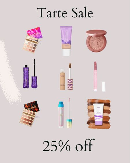 Tarte is 25% off + free shipping for the LTK Sale!   #LTKsalealert #LTKunder50 #LTKbeauty