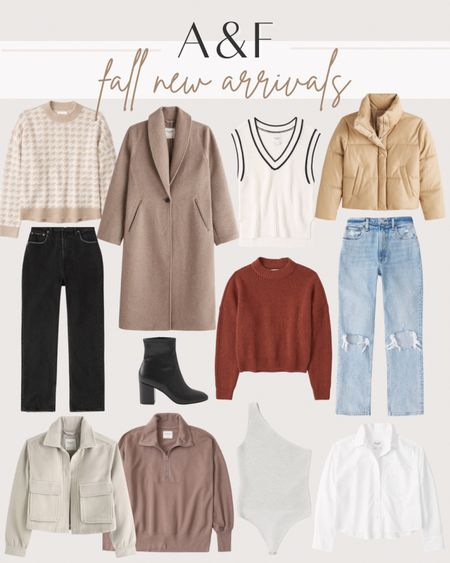 Abercrombie and Fitch new arrivals for fall  #LTKstyletip #LTKSeasonal #LTKunder100