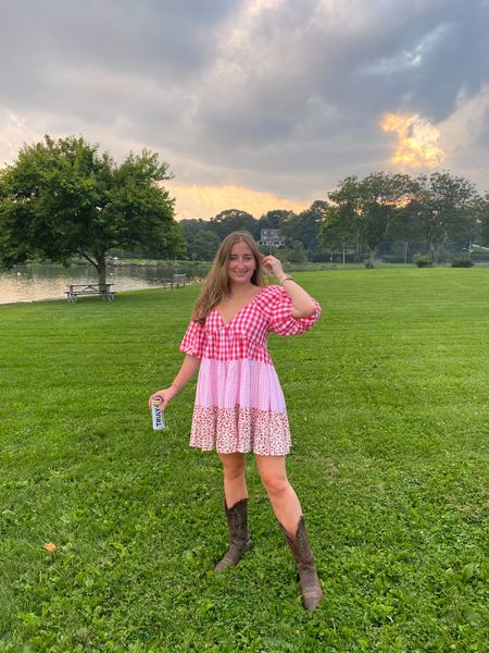 Summer concert nights ❤️ these Ariat boots are at least 7 years old and have held up so well!   #LTKshoecrush #LTKunder50 #LTKunder100