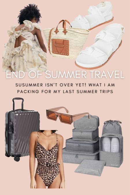 Summer is not over yet! Here's what you need for your end of summer vacation.  #LTKtravel #LTKunder100