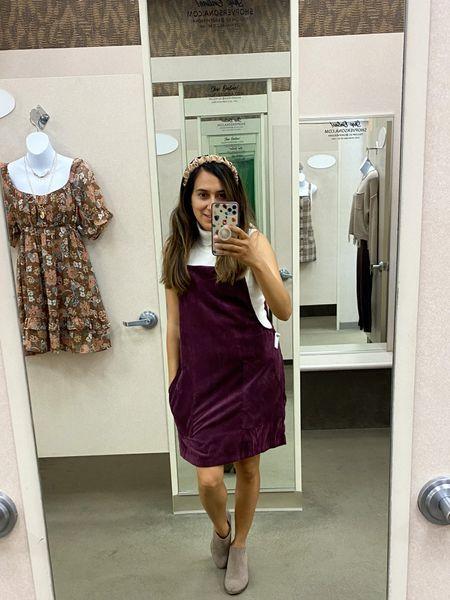 Love this overall dress by Versona… perfect piece for back to school   #LTKstyletip #LTKbacktoschool #LTKSeasonal