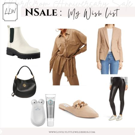 Nordstrom Canada Anniversary Sale. Fall Outfits. Shoes, beauty, accessory faves and Must Haves on my wish list.  Find more from the Nsale here and Lovelylittlewildbirds.com xo    #LTKbeauty #LTKsalealert #LTKstyletip