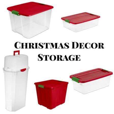 Christmas Decor Storage   #StayHomeWithLTK #LTKNewYear #LTKhome