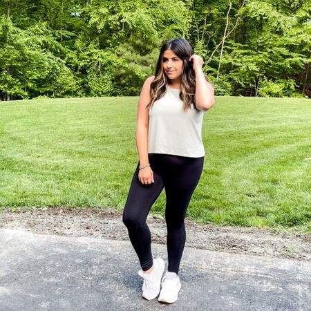 Wen the rain finally clears!   Crop tops just aren't my thing but this one from old navy is just too good. I love the muted khaki color- seen here in a medium    http://liketk.it/3gA4i #liketkit @liketoknow.it #LTKsalealert #LTKfit #LTKcurves