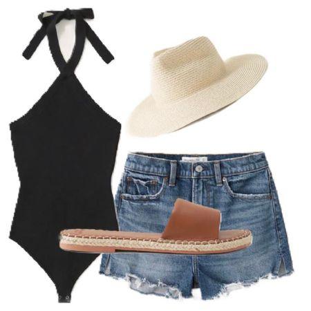 LTK Day. #abercrmbie&fitch #highriseshorts #summer #summertime #summerwear #swimsuit #sandals #LTKDAY #LTKDay #LTKswim #LTKshoecrush @liketoknow.it #liketkit http://liketk.it/3hkBy