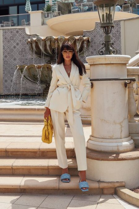 I love a good blazer and/or suit! Obsessed with this one from Blaze Milano - the fit is perfect and it's just so chic. Paired it with Bottega Veneta accessories   #LTKitbag #LTKstyletip #LTKshoecrush