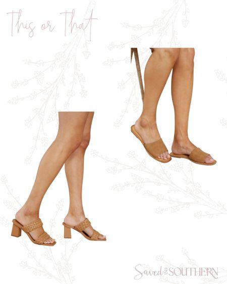 Heels Or sandals. http://liketk.it/3hSox #liketkit @liketoknow.it #LTKshoecrush