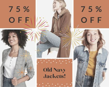 Old Navy Coats & Jackets 75% OFF today only! #LTKNewYear #LTKunder50 #StayHomeWithLTK #liketkit @liketoknow.it @liketoknow.it.home http://liketk.it/34IZw Download the LIKEtoKNOW.it shopping app to shop this pic via screenshot