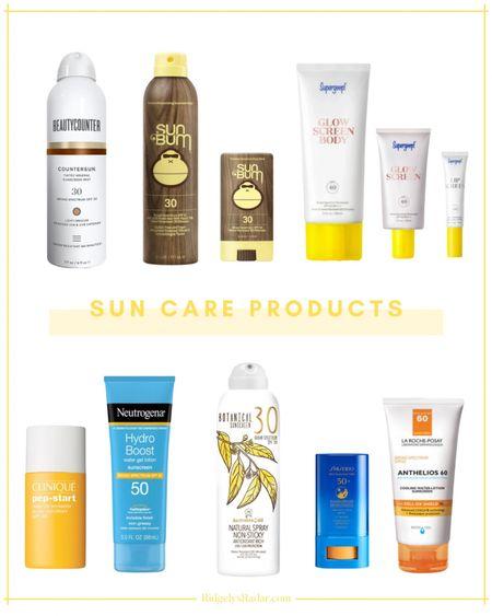 The absolute best sunscreen products for summer!!   #sunscreen #sunprotection #suncare #beauty #skincare   #LTKSeasonal #LTKbeauty #LTKtravel