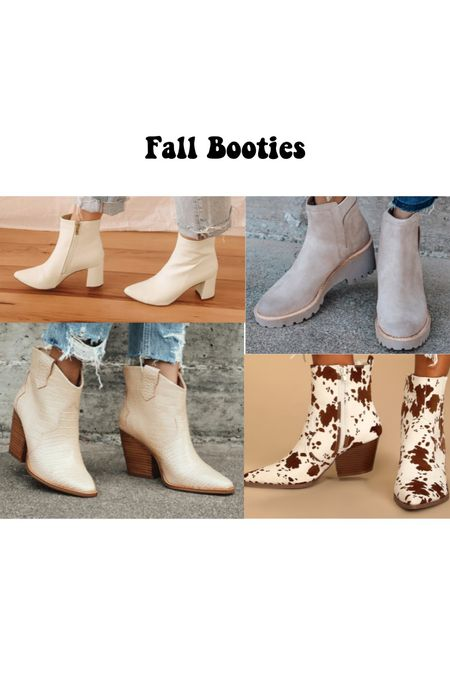 Must have fun fall booties Perfect for date night, happy hour, or workwear   #LTKstyletip #LTKSeasonal #LTKworkwear