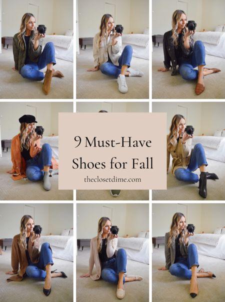 The 9 pairs of shoes every gal needs for fall!!   #LTKSeasonal #LTKshoecrush #LTKbacktoschool