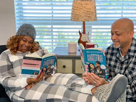 It's almost Valentine's Day. Share the Love with your hubby ❤️❤️! #Books #Marriage #Loungewear #Pajamas   #LTKhome #LTKVDay #LTKfamily