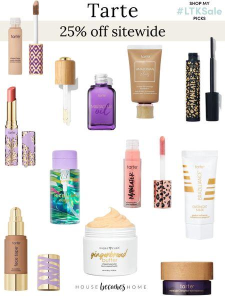 LTK Early Gifting Sale! 25% off Tarte Cosmetics!    #LTKbeauty #LTKGiftGuide #LTKSale