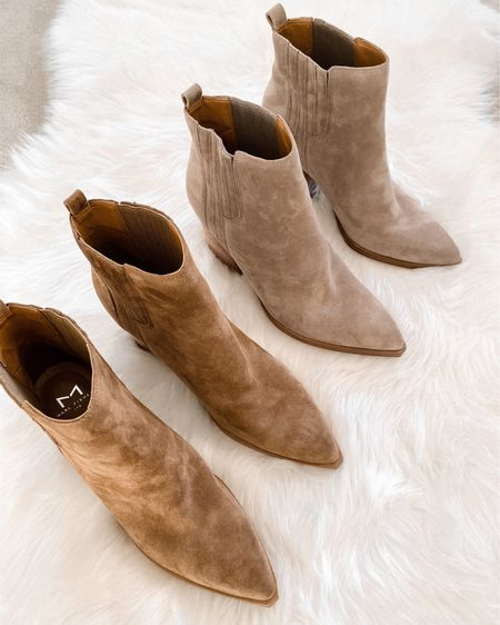 Fall booties! #boots #booties #fallshoes   #LTKshoecrush #LTKunder100 #LTKstyletip
