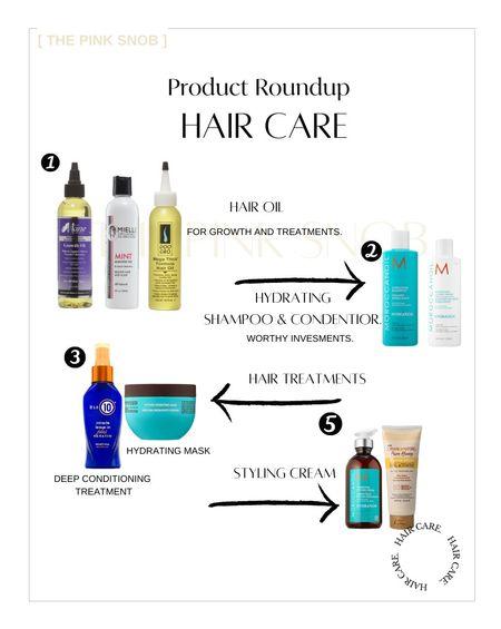 Hair Care Products.  Ulta finds. Black hair care. Sallys.  #LTKSeasonal #LTKunder100 #LTKbeauty