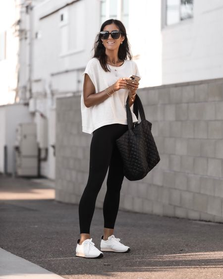 Athleisure looks, TTS, leggings, fall outfit, sneakers, cozy casual, stylinbyaylin  Follow my shop on the @shop.LTK app to shop this post and get my exclusive app-only content!