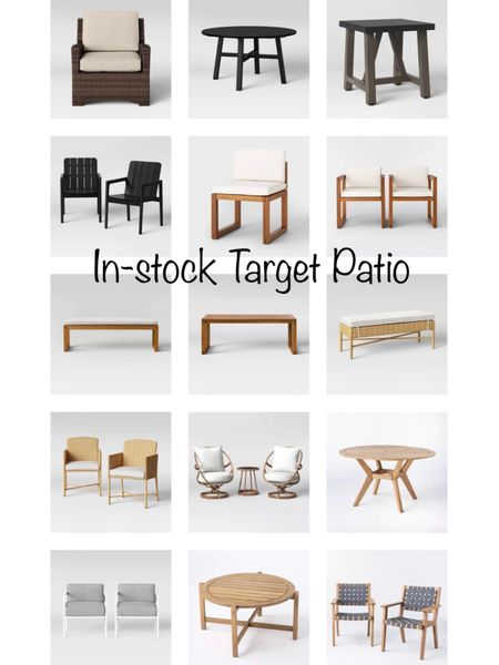 All of my favorites picks for in-stock Target patio furniture. Some are on sale this weekend! @liketoknow.it.home    You can instantly shop my looks by following me on the LIKEtoKNOW.it shopping app http://liketk.it/3gi4d #liketkit @liketoknow.it   #LTKhome #LTKstyletip #LTKsalealert