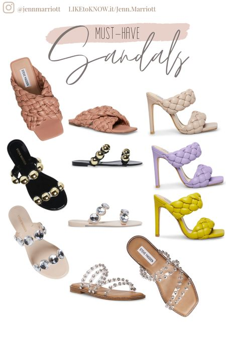 Braided sandals, rhinestone sandals, jelly sandals, summer shoes, spring shoes http://liketk.it/39si5 #liketkit @liketoknow.it #LTKbeauty #LTKstyletip #LTKshoecrush You can instantly shop all of my looks by following me on the LIKEtoKNOW.it shopping app