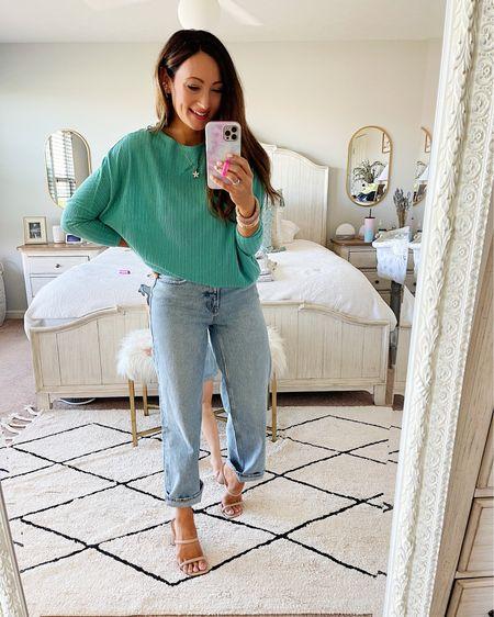 • small top • jeans tts - size 4   http://liketk.it/3hIFI #liketkit @liketoknow.it