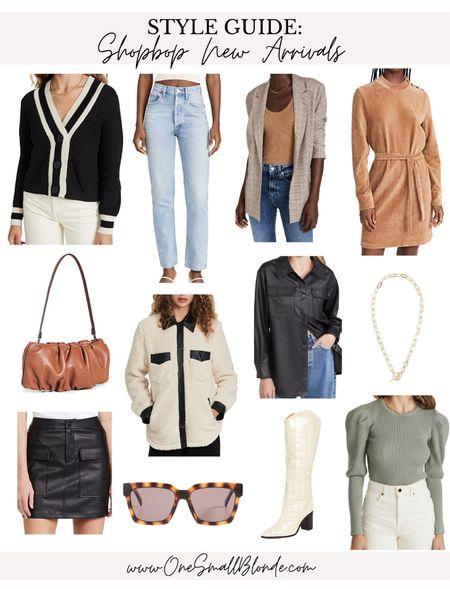 Shopbop new arrivals for fall 🖤   #LTKSeasonal #LTKstyletip #LTKunder100