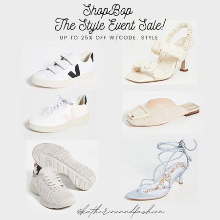 ShopBop - The Style Event Sale! 15% off 200+, 20% off $500+  Sam Edelman, APL, Vejas   #LTKsalealert #LTKshoecrush