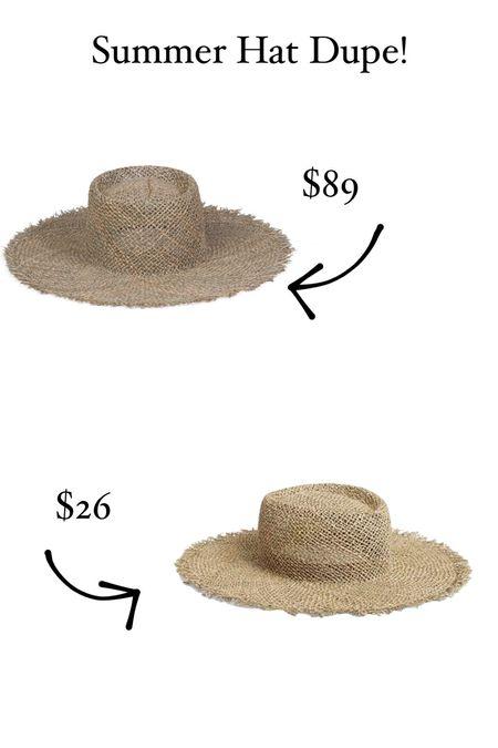 Summer straw hat affordable version.   #LTKsalealert #LTKstyletip #LTKtravel