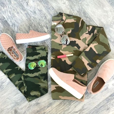 Mommy & me camo + blush to kick off the weekend! 💕🙌🏻 || Get these coordinating outfit details via the link in my profile. || http://liketk.it/2xlxV @liketoknow.it #liketkit #LTKkids #LTKshoecrush #LTKunder100 #LTKunder50