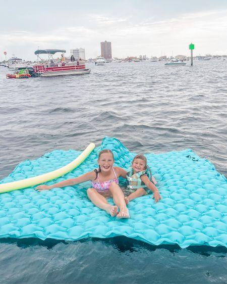 Best boat day accessory: the floating water mat #LTKkids http://liketk.it/3jqqd #LTKswim #LTKfamily @liketoknow.it #liketkit