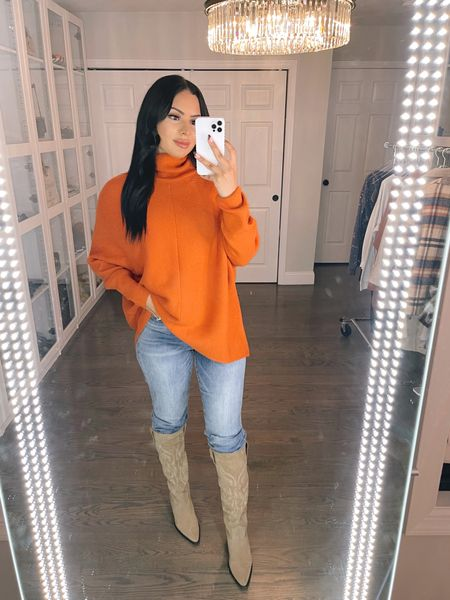 The perfect fall sweater from Amazon! I'm wearing size medium   #LTKunder50 #LTKHoliday #LTKstyletip