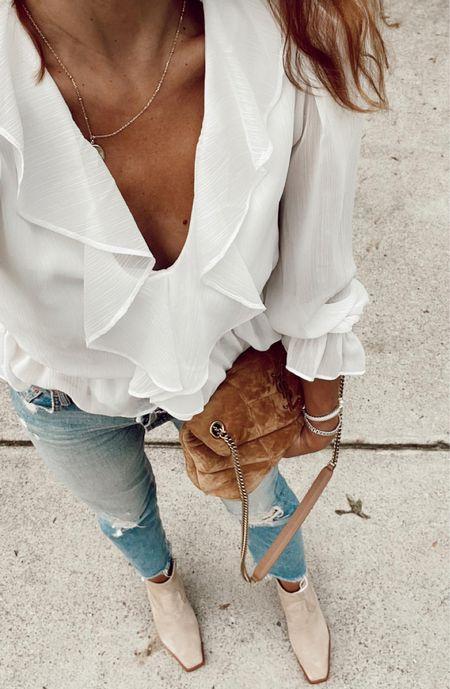 Tomcat jeans that I love! Suede bag and boots 🥾   #LTKunder100 #LTKstyletip #LTKsalealert