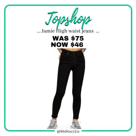 Top shop sale on skinny black jeans at Nordstrom. http://liketk.it/371gk #liketkit @liketoknow.it #topshop #nordstrom #sale