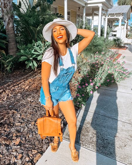 Enjoying this gorgeous weather, these fun overall shorts, and smiling ear to ear because it's #libraseason!  Bottoms: #forever21 Shoes: #forever21 Hat: #francescas Backpack: #target  http://liketk.it/2Fhoa #liketkit @liketoknow.it  #LTKcurves #LTKitbag #LTKshoecrush #LTKstyletip  #targetstyle #style #fashion #styletip #sunny Shop my daily looks by following me on the LIKEtoKNOW.it shopping app