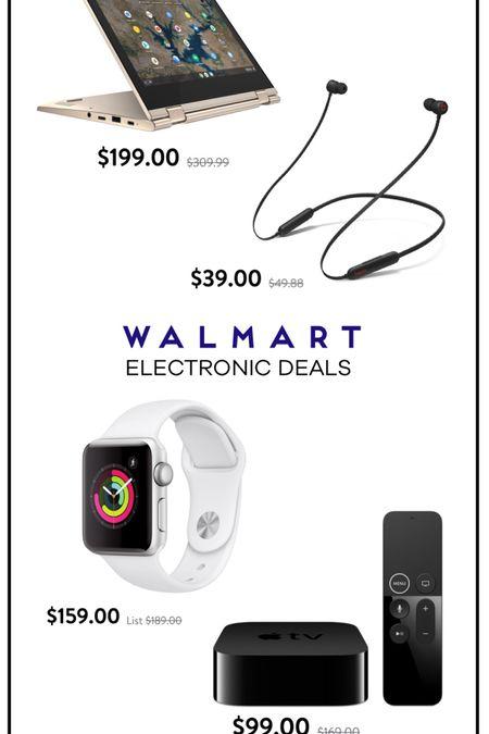 http://liketk.it/3ih49 @liketoknow.it #liketkit #LTKsalealert Walmart Electronic Deals. Apple Watch on sale. Apple TV on sale