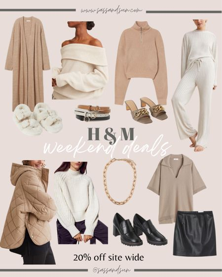 H&M new fall arrivals! All about the neutrals! Fall style / fall outfits / neutral style   #LTKsalealert #LTKunder50 #LTKSeasonal