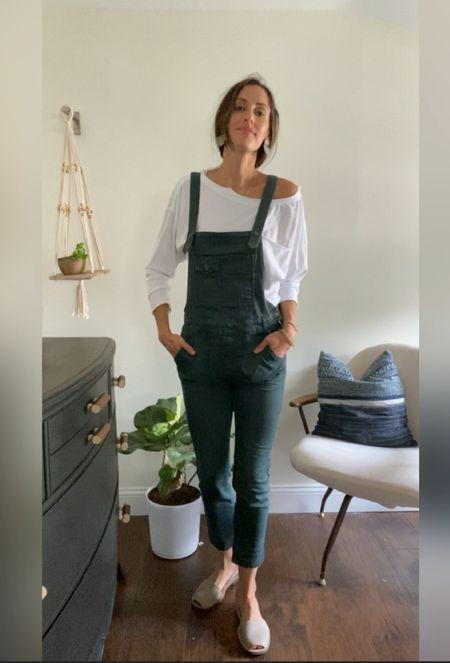 How to style overalls!   #LTKstyletip #LTKunder50 #LTKunder100