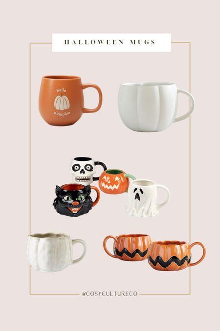 Cute Halloween mugs!   #LTKhome #LTKfamily #LTKSeasonal