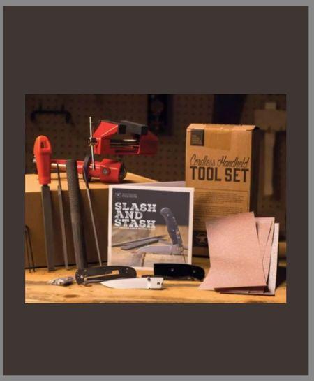 folding knife making kit man crates Christmas gift  #LTKHoliday #LTKGiftGuide #LTKmens