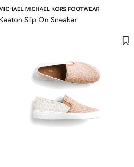 Stitch fix Michael kors two tone Keaton slip on sneakers pink sneakers . http://liketk.it/3fPFN #liketkit @liketoknow.it #LTKunder100 #LTKshoecrush #LTKsalealert #stitchfix #michaelkors #pinksneakers